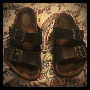 Black Birkenstocks Size 8.5